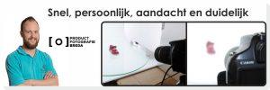 Productfotografie Breda | Snel, persoonlijk, aandacht en duidelijk