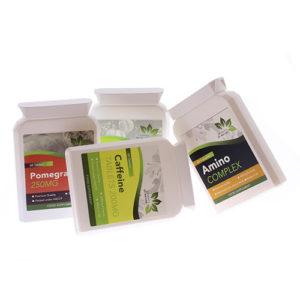 Elements of Nature vitamine potjes witte achtergrond